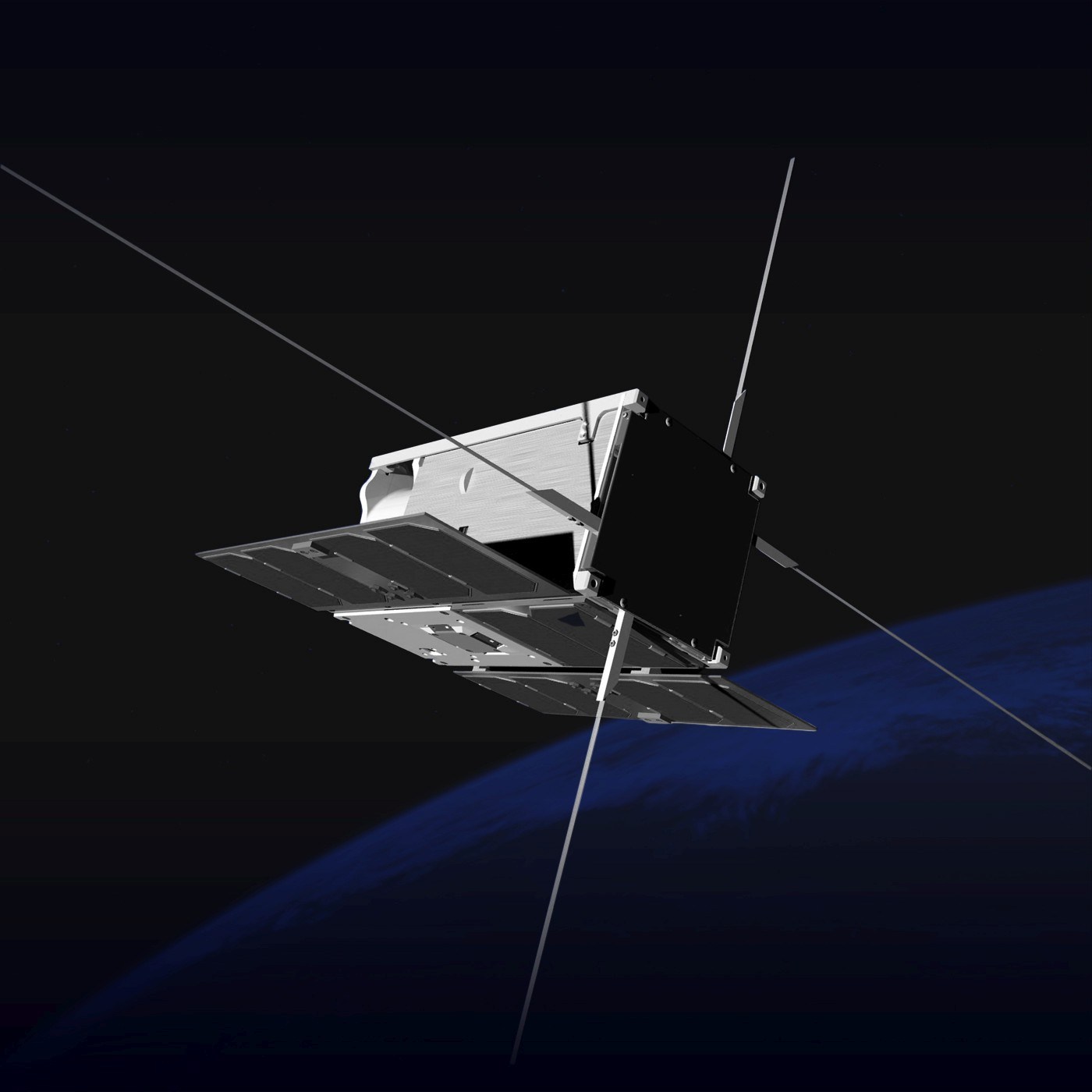 Branding satelity PW-Sat 2