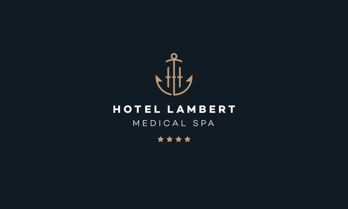 Logo Hotelu Lambert - projekt nowego znaku