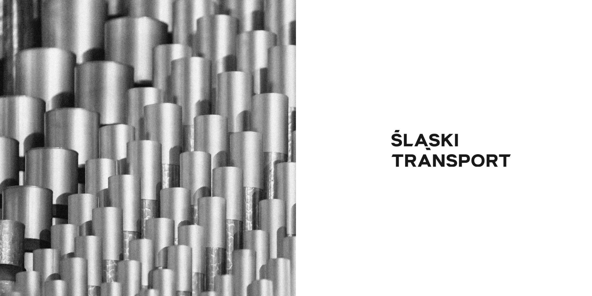 Prezentacja logo firmy Śląski Transport